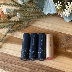 bareMinerals 4 piece mini Lipsticks